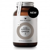 Wild Nutrition Pure Strength Omega-3 Capsules 120