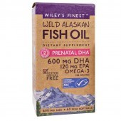 Wiley's Finest Prenatal DHA 720mg Capsules 60