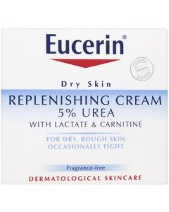 Eucerin Replenishing Cream 5% Urea with Lactate and Carnitine 75ml