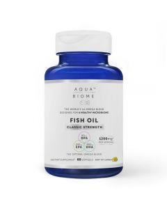Aqua Biome Fish Oil Classic Strength Softgels 60
