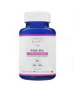 Aqua Biome Fish Oil + Digestive Support Softgels 60