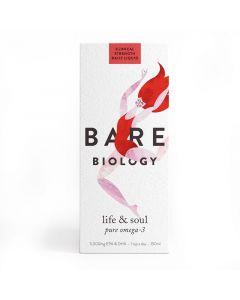 Bare Biology Life & Soul Pure Omega-3 Fish Oil 150ml