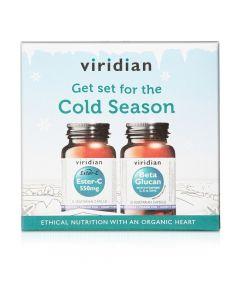 Viridian Cold Season Pack (Ester-C 550mg 30s + Beta Glucans 30)