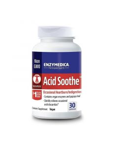 Enzymedica Acid Soothe Capsules 30