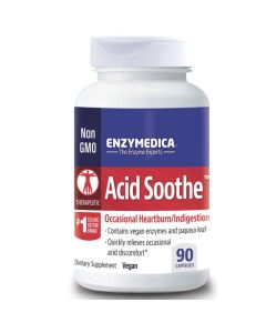 Enzymedica Acid Soothe Capsules 90