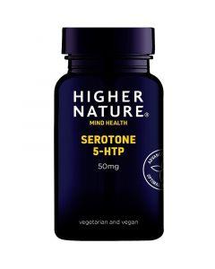 Higher Nature Serotone 5-HTP 50mg Vegetable Capsules 30