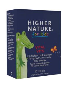 Higher Nature Vital Vits for Kids Chewable Tabs 30