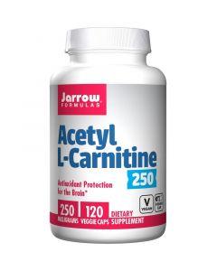 Jarrow Formulas Acetyl L-Carnitine 250mg Vegicaps 120