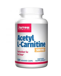 Jarrow Formulas Acetyl L-Carnitine 500mg Vegicaps 120