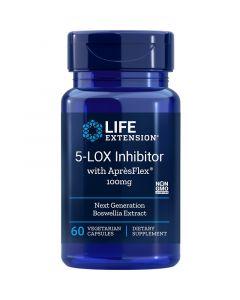 Life Extension 5-LOX Inhibitor with ApresFlex 100mg Vegicaps 60