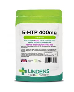Lindens 5-HTP 400mg Tablets 60