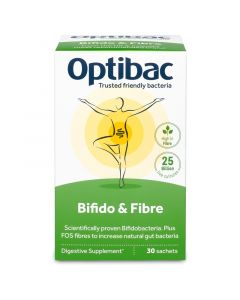 OptiBac Bifidobacteria and Fibre Sachets 30