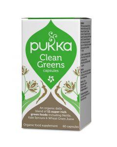 Pukka Clean Greens Capsules 60
