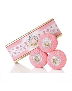 Roger and Gallet Rose Soap 3 x 100g