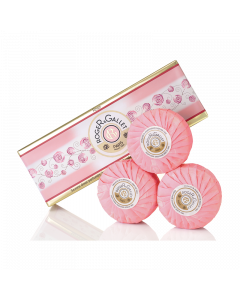 Roger & Gallet Rose Soap Coffret 3 x 100g