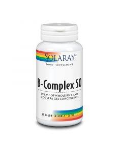Solaray B-Complex 50 Capsules 60