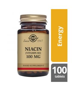 Solgar Niacin 100mg Tablets 100
