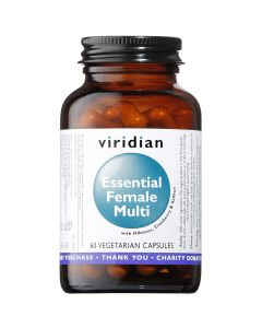 Viridian Essential Female Multi Veg Caps 60