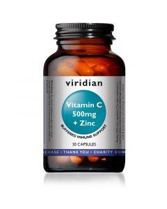 Viridian Vitamin C & Zinc Capsules 30
