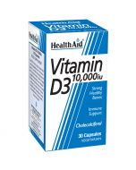 HealthAid Vitamin D3 10,000iu Vegicaps 30