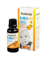 HealthAid BabyVit Drops Orange Flavour 25ml