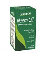 HealthAid Neem Oil capsules 60