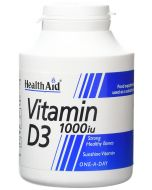 HealthAid Vitamin D3 1000iu Tablets 1000
