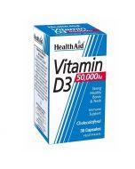 HealthAid Vitamin D3 50,000iu Capsules 30