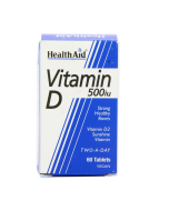 HealthAid Vitamin D 500iu Tablets 60