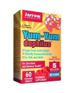 Jarrow Formulas YumYum Dophilus 5 Billion Raspberry Chew Tabs 60