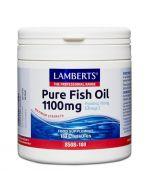 Lamberts Pure Fish Oil 1100mg Capsules 180
