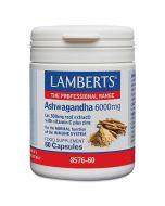 Lamberts Ashwagandha 6000mg Capsules 60