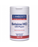 Lamberts Betaine HCI 324mg with Pepsin 5mg Tablets 180