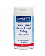 Lamberts Green Lipped Mussel Extract 350mg tabs 90