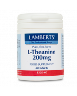 Lamberts L-Theanine 200mg Tablets 60