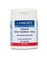 Lamberts Natural Beta Carotene 15mg Capsules 90
