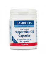 Lamberts Peppermint Oil Capsules 50mg 90