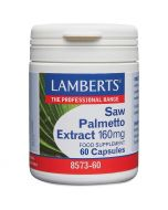 Lamberts Saw Palmetto Extract 160mg Caps 120