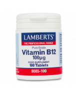 Lamberts Vitamin B12 100ug Tablets 100