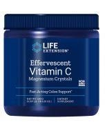 Life Extension Effervescent Vitamin C Magnesium Crystals 180g