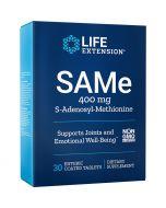 Life Extension SAMe S-Adenosyl-Methionine 400mg Tabs 30