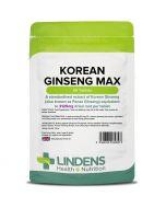 Lindens Korean Ginseng Max 3125mg Tablets 90