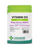 Lindens Vitamin D3 5000iu Capsules 360
