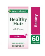 Nature's Bounty Healthy Hair with Keratin Capsules 60