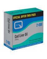 Quest Vitamins Cod Liver Oil (Twin Pack 2X90) Caps 180