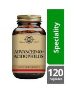 Solgar Advanced 40+ Acidophilus Vegicaps 120