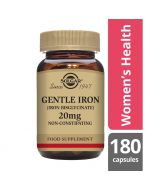 Solgar Gentle Iron 20mg Vegicaps 180