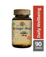 Solgar Kangavites Chewable Vitamin C 100mg tablets 90