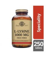Solgar L-Lysine 1000mg Tablets 250