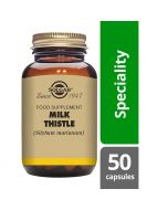 Solgar Milk Thistle 100mg Full Potency Vegicaps 50